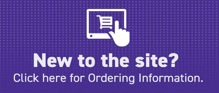 New to the site? Click here for Ordering Information.