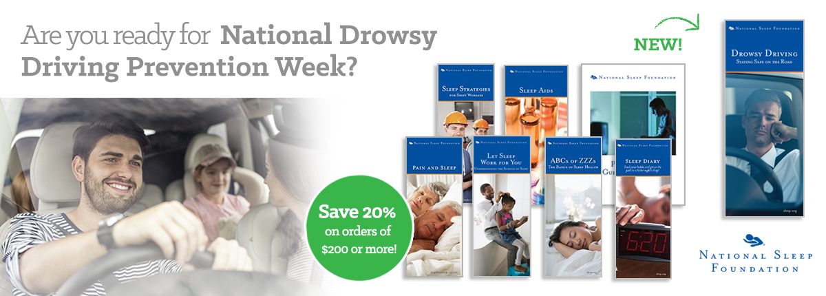 Are you ready for National Drowsy Driving Prevention Week?