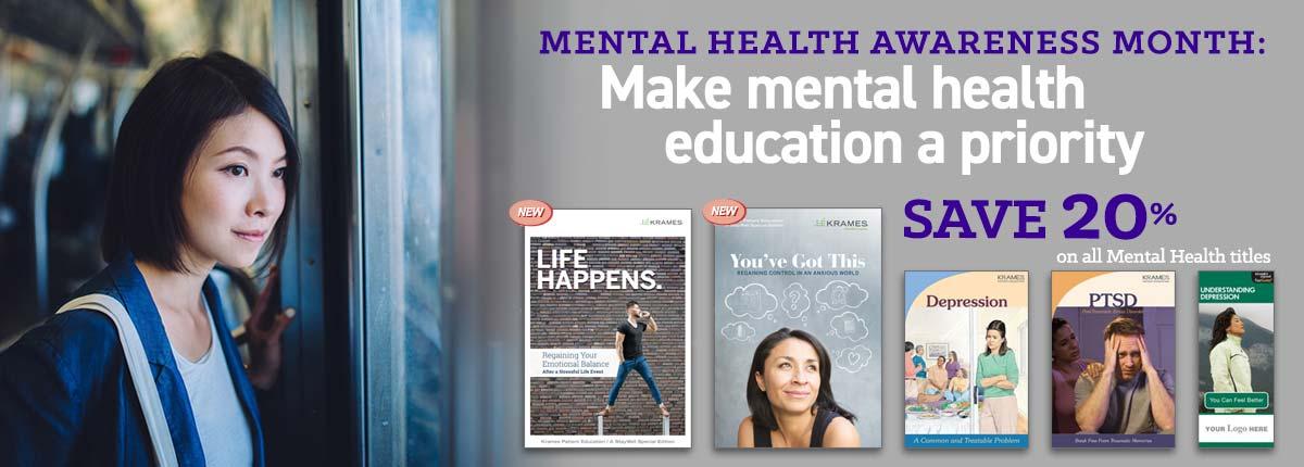 Mental Health Awareness Month: Make mental health education a priority