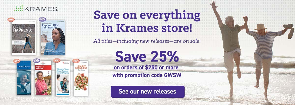 Memorial Day Sale: save on everything in Krames Store!