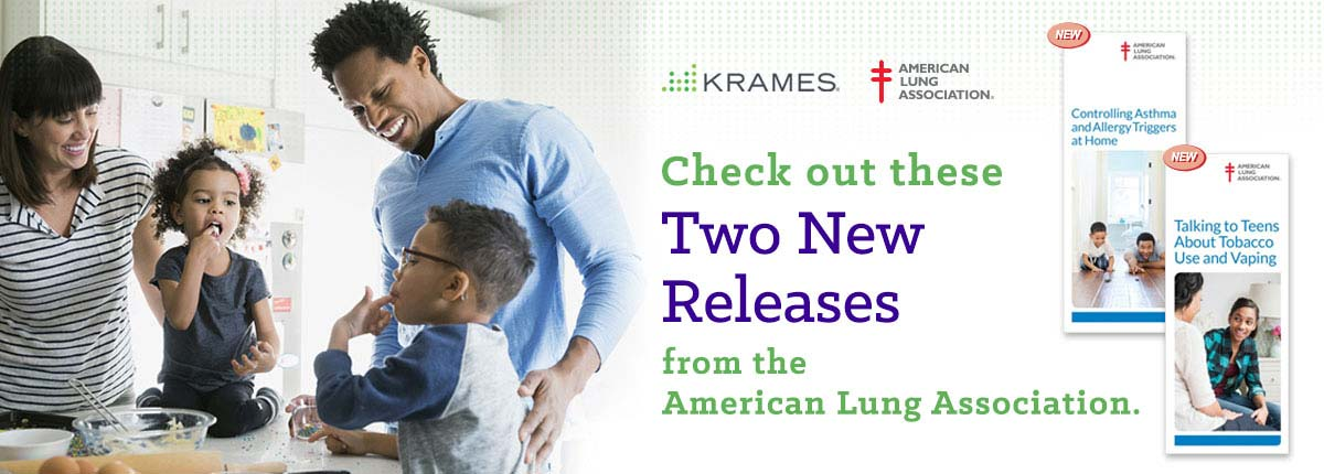 Check out these two new releases from the American Lung Association!