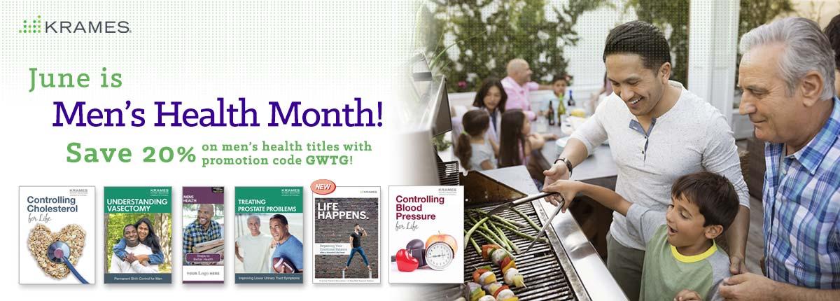 June is Men's Health Month!